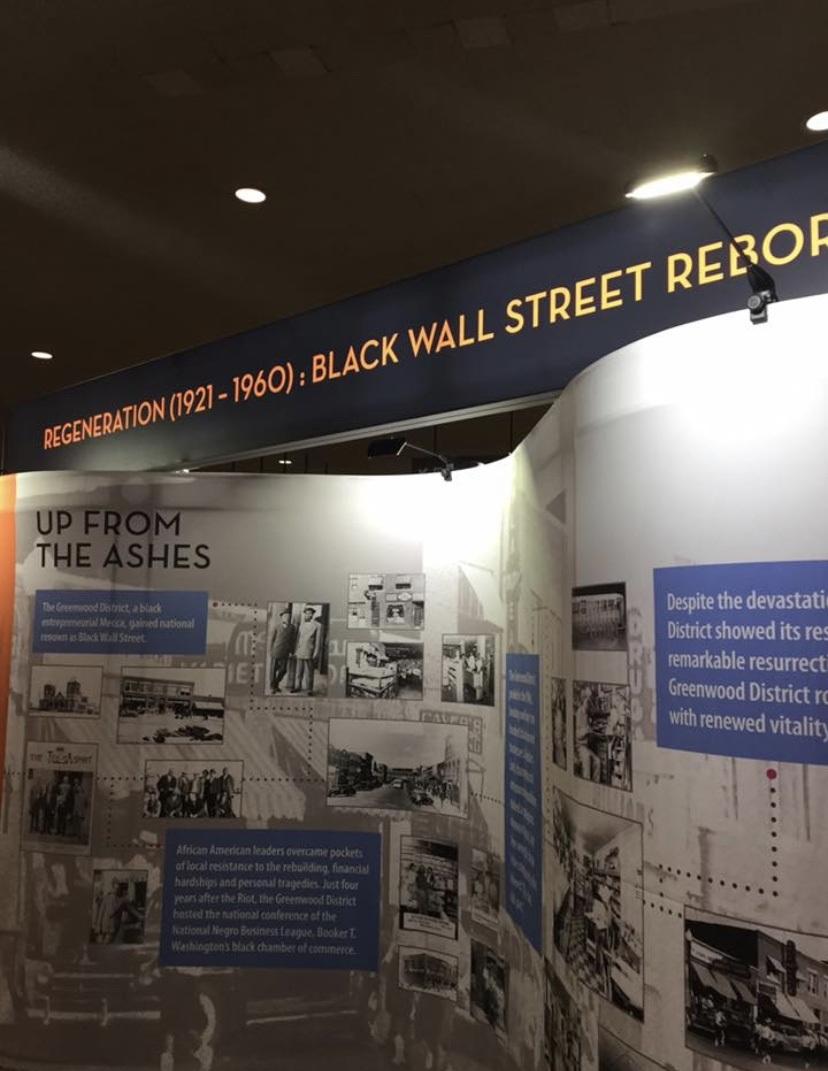 Black Wall Street Tulsa Museum