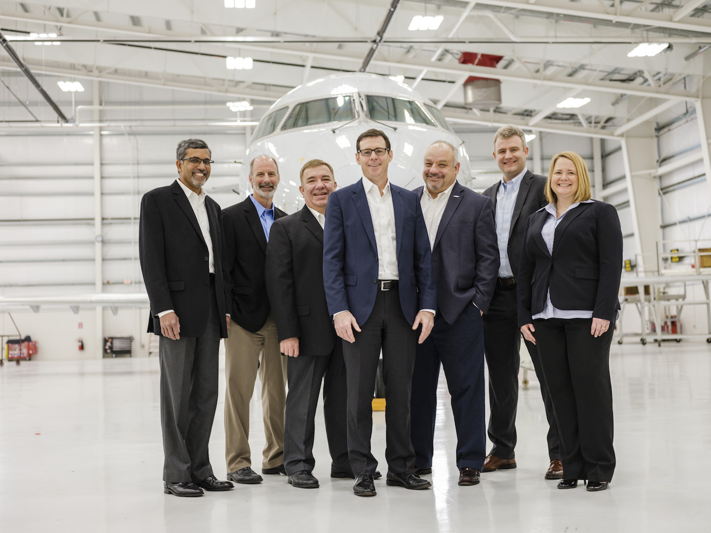 Dion Flannery, President of PSA Airlines, heads the leadership team.