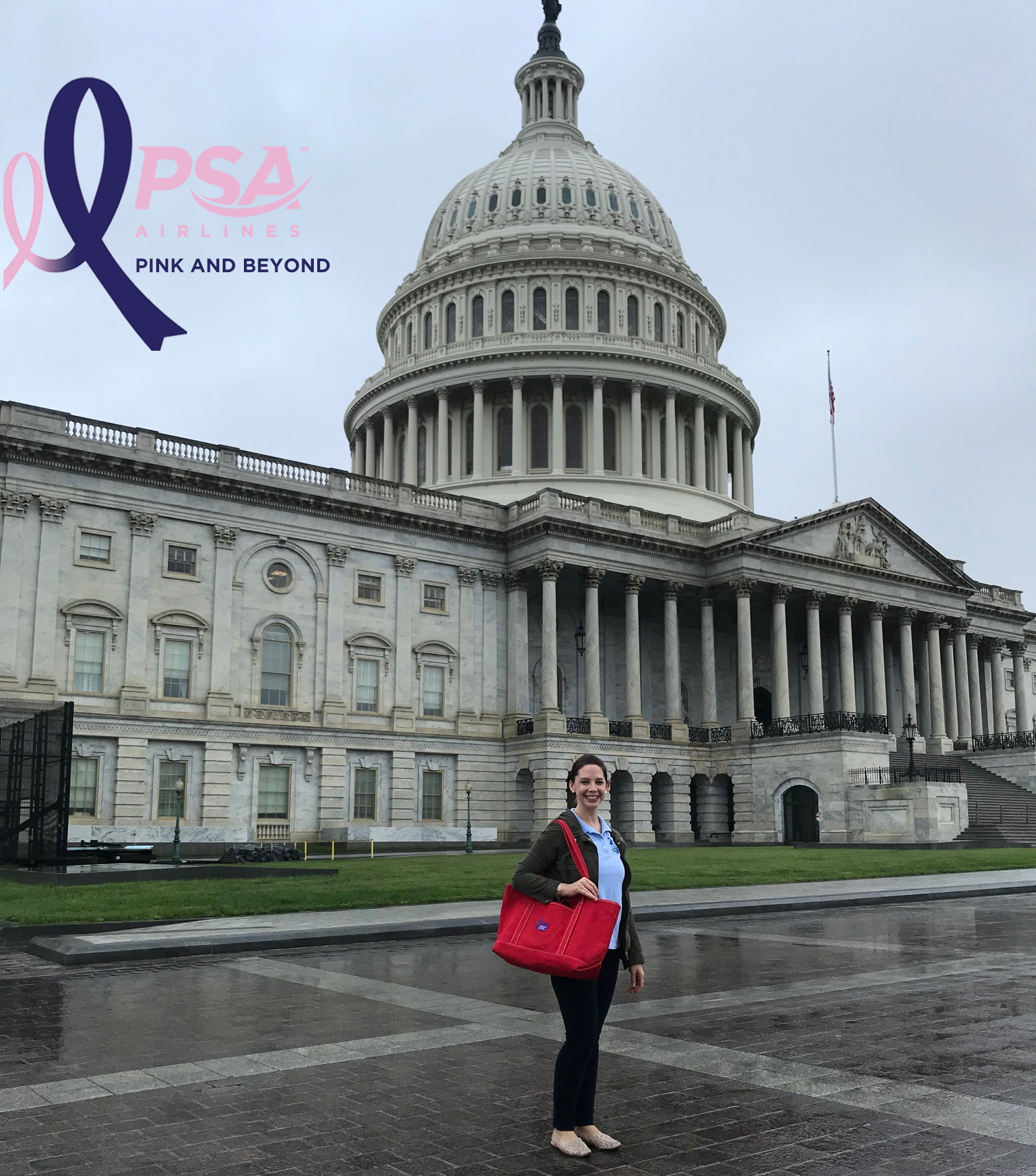 PSA Director Advocates on Capitol Hill for Cancer Research Funding