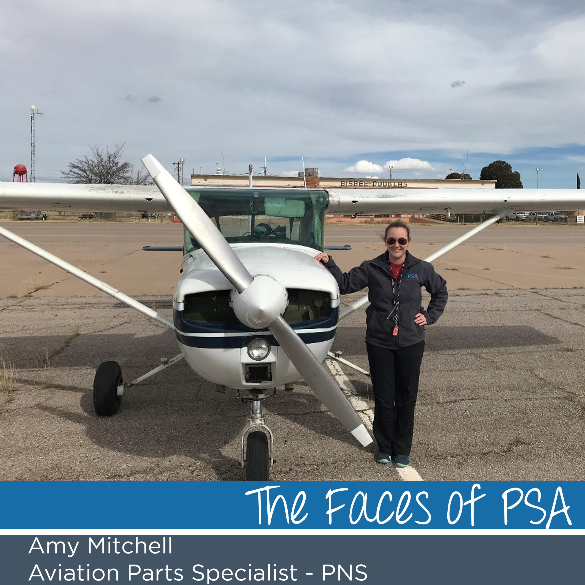 Amy Mitchell in Pursuit of Her Dreams to Become a Pilot
