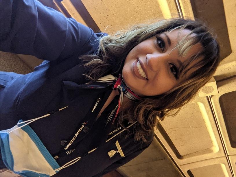 Flight Attendant Anjanetee Camacho Betancourt