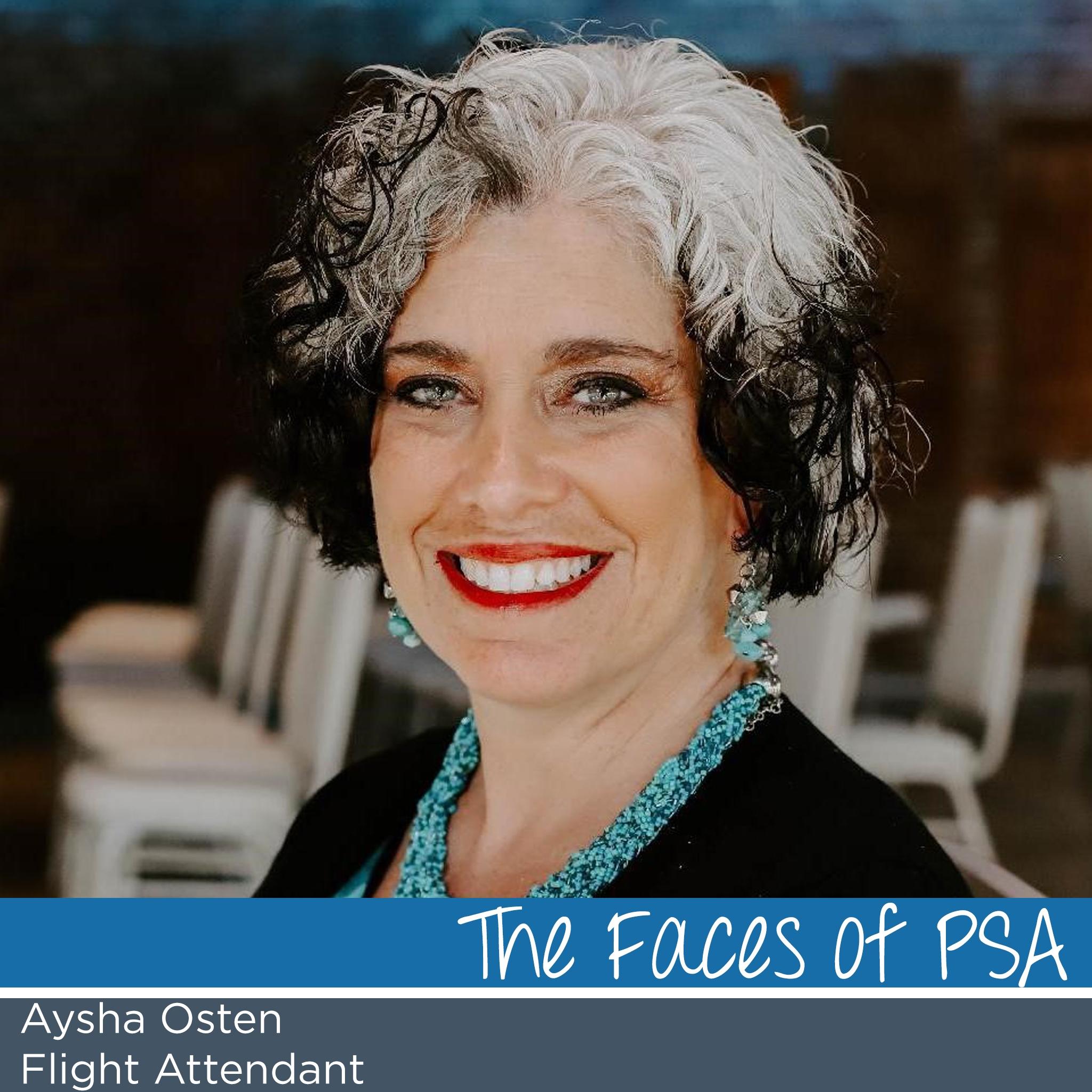 Flight Attendant and Recruiting Ambassador, Aysha Osten