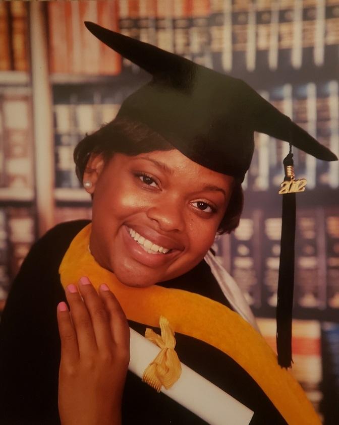 Bianca in Graduation Photo
