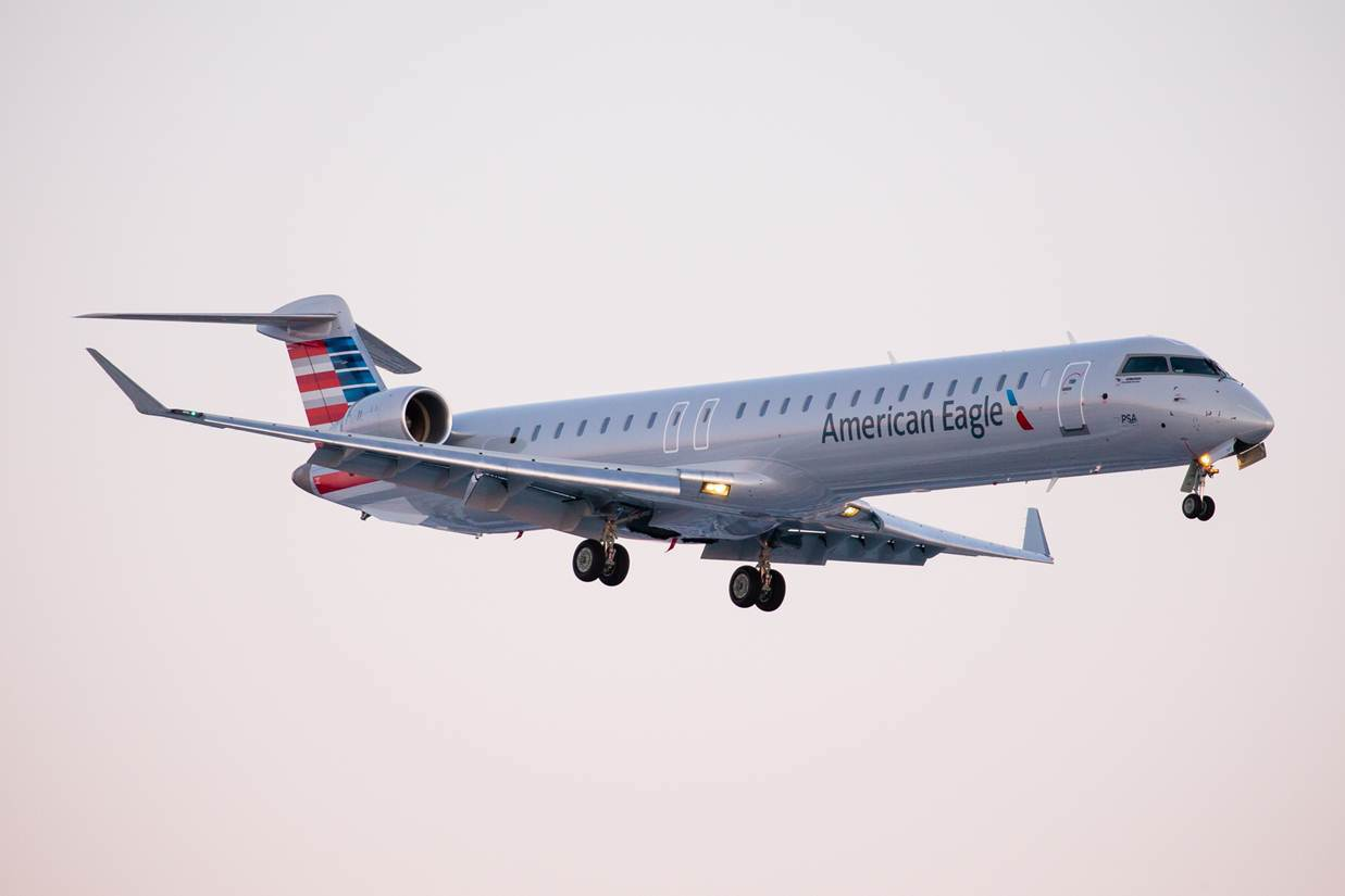 Bombardier CRJ-900 operated by PSA Airlines
