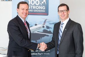 PSA Airlines Welcomes its 100th Bombardier CRJ Series Jetliner Operated for American Airlines