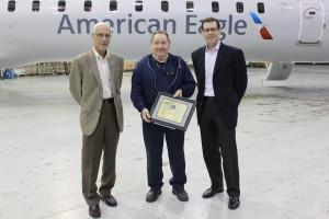 PSA Airlines Technician Receives FAA Prestigious Award
