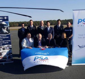PSA Airlines and SkyWarrior Sign Rotor Transition Program Agreement