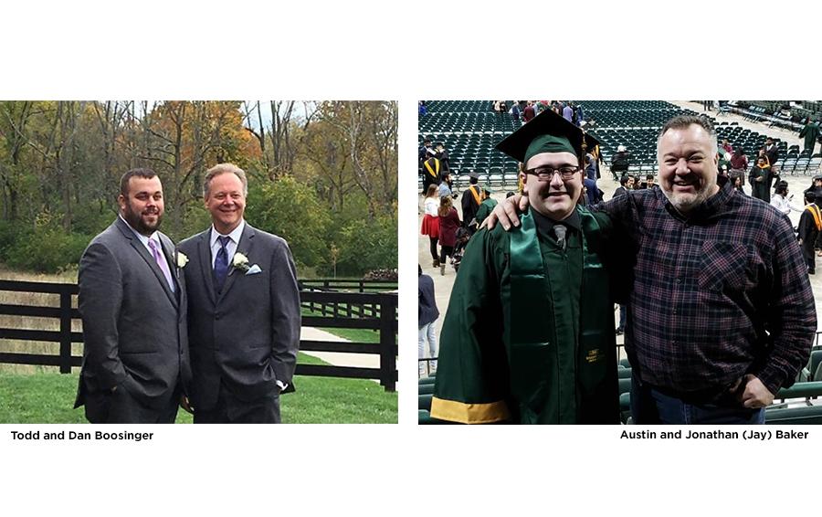 Todd & Dan Boosinger; Austin & Jonathan (Jay) Baker
