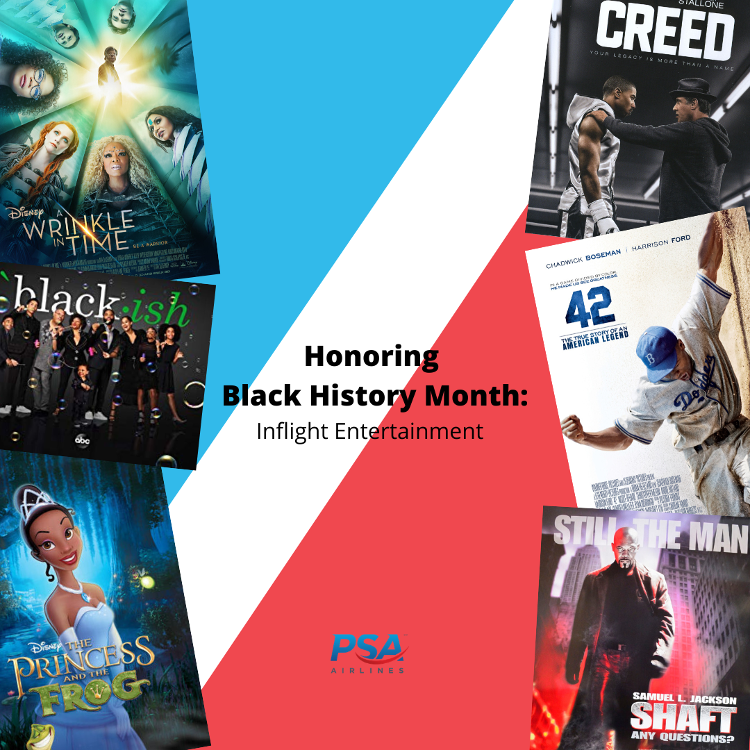 Catch these films and shows on your next flight during the month of February!