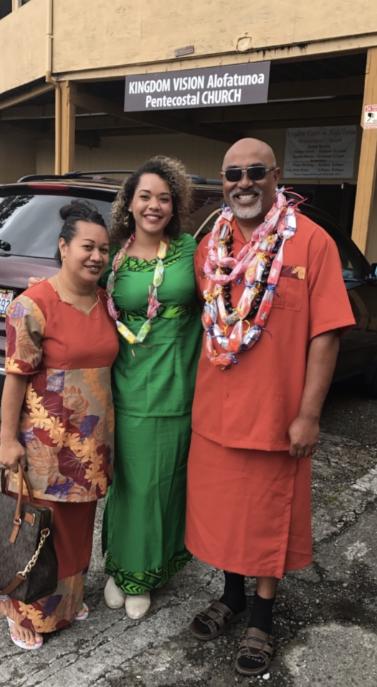 Makailah Badger and family