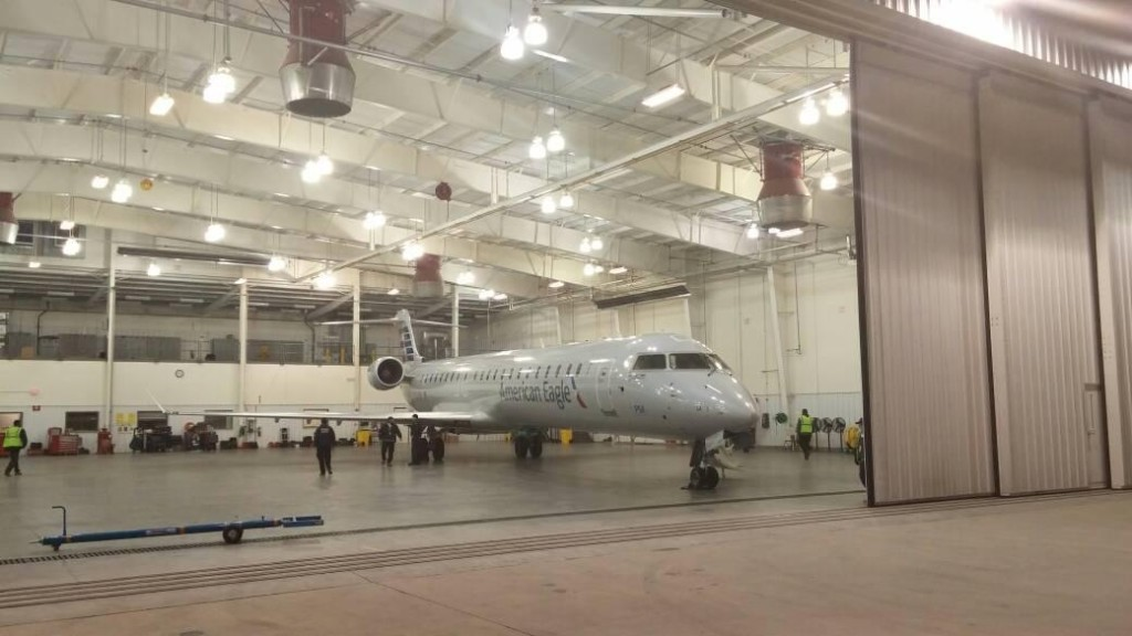 PSA Officially Begins Operations Out of New CLT Maintenance Base