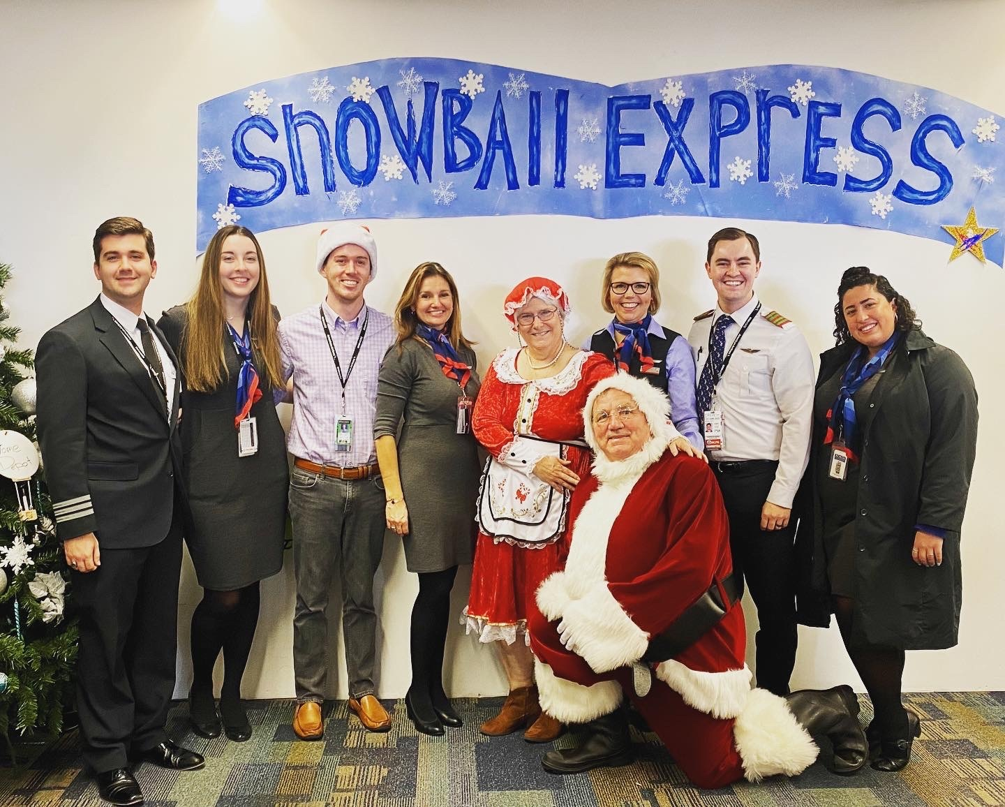 PSA Team Members at ORF for Snowball Express