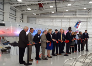 PSA Airlines, Dayton International Airport and Local Community Leaders Celebrate the Opening of PSA's New Dayton Maintenance Hangar