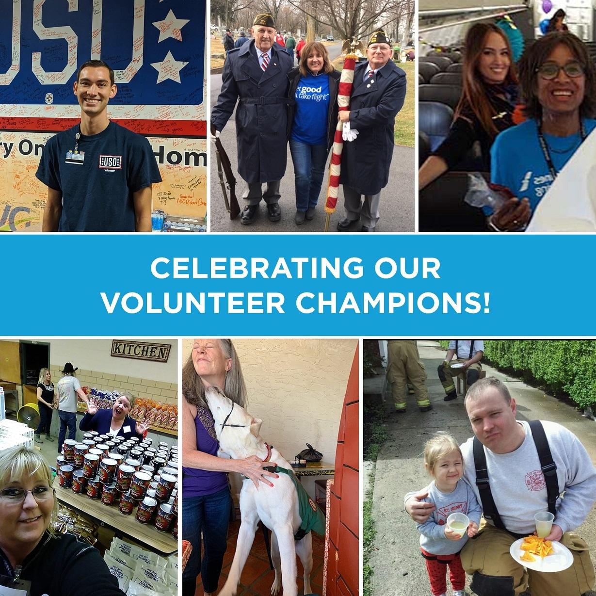 Do Crew Champions: Volunteers Across the Network